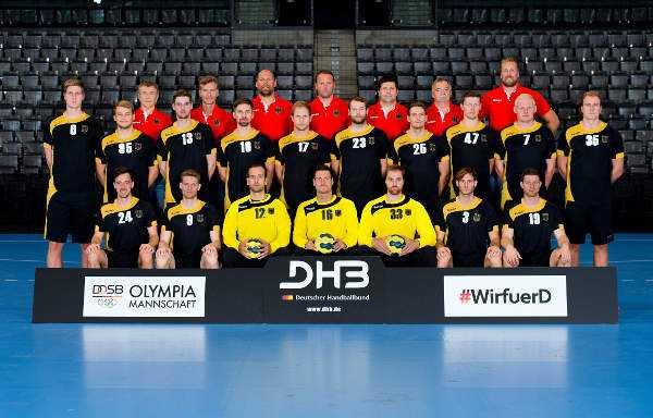 Olympia Rio 2016 Handball Deutschland Mit Olympischem Bronze Sommer