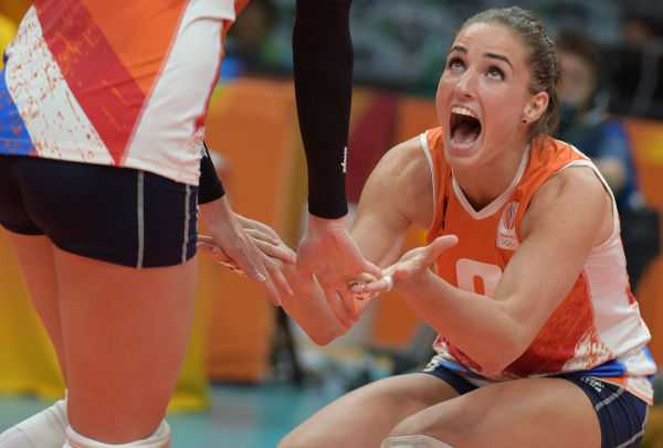 Olympia Rio 2016: DSC-Kapitänin Myrthe Schoot im olympischen Halbfinale - Foto: FIVB
