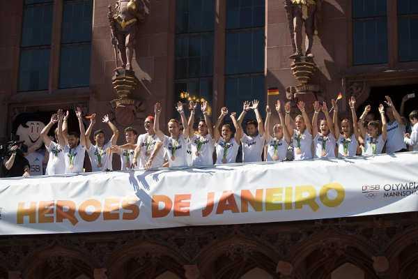 Olympia Rio 2016: Heroes de Janeiro sind zurück - Foto: DOSB/Frank May/Chris Christes