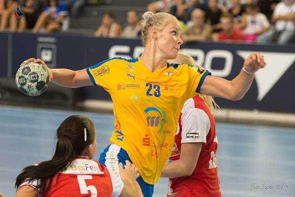 Shenia Minevskaja - Handball kompakt mit dem THW Kiel und HC Leipzig - Foto: Sebastian Brauner