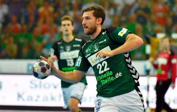 """SC DHfK Leipzig zum """"Tendenz-Match"""" in Coburg - Foto: Rainer Justen"""