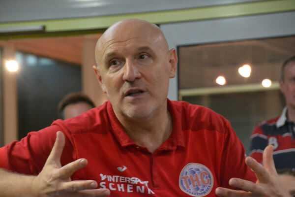 Herbert Müller - Handball Champions League: Thüringer HC will in die Hauptrunde. Match vs. Glassverket Drammen richtungsweisend - Foto: Hans-Joachim Steinbach / Thüringer HC