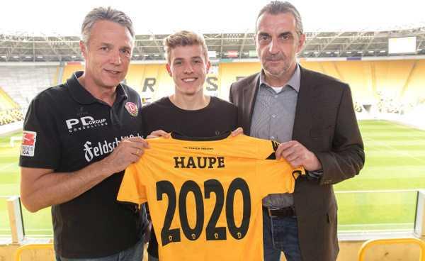 Dynamo Dresden verlängerte mit Niklas Hauptmann - Foto: Steffen Kuttner
