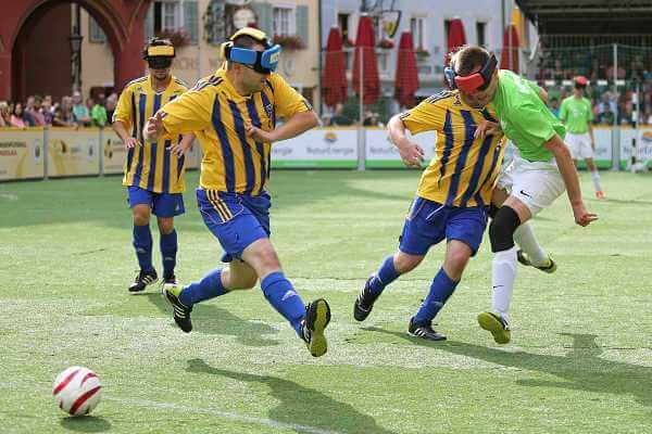 1. FC Lok Leipzig richtet Blinden-Fußball-Cup aus - Foto: Carsten Kobow