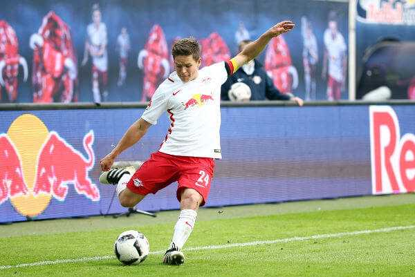 Deutsche Bundesliga, RasenBallsport Leipzig vs. SV Werder Bremen - Dominik Kaiser (RB Leipzig) - Foto: GEPA pictures/Kerstin Kummer