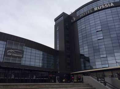 Skopje: Top-Hotel und Handball-ARENA in einem Komplex - Foto: Sebastian Brauner