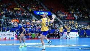Handball EM 2016: Deutschlands Halbfinal-Chancen gesunken. Frankreich schlug Schweden. Konstellationen - Foto: Peter Jansen