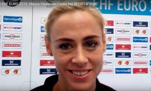 Handball EM 2016: Maura Visser vor Finale im SPORT4FINAL-Video - Foto: SPORT4FINAL