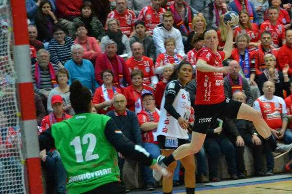 Thüringer HC bezwang FA Göppingen. Dreikampf an Tabellenspitze - Foto: Hans-Joachim Steinbach