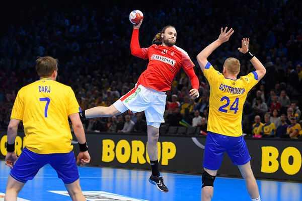 """Handball WM 2017: Dänemark und """"Man of the Match"""" Niklas Landin bezwingen Schweden - Foto: France Handball"""
