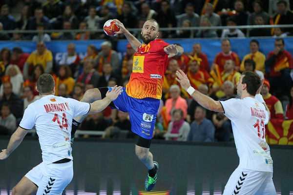 Joan Canellas (Spanien) - Handball WM 2017: Spanien bezwang Mazedonien in Crunchtime - Foto: France Handball