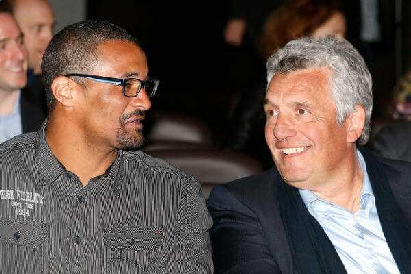 Didier Dinart und Claude Onesta (v.l.) - Handball WM 2017: Gruppe A mit Top-Favorit Frankreich - Spielplan - Foto: France Handball