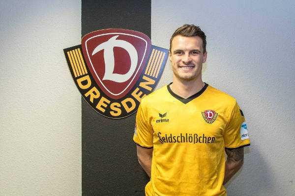 Philip Heise - Dynamo Dresden verpflichtete Philip Heise vom VfB Stuttgart - Foto: Dynamo Dresden/ Steffen Kuttner