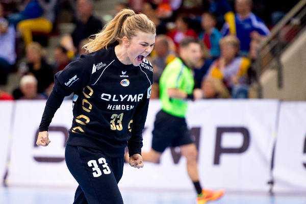 Tess Wester - SG BBM Bietigheim: Niederländische Vize-Welt- und -Europameisterin Tess Wester verlängerte um ein Jahr - Foto: Marco Wolf
