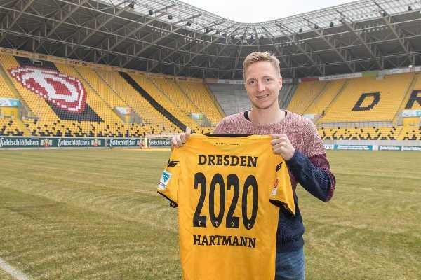 """Dynamo Dresden verlängerte mit Marco Hartmann wegen seines """"Bocks"""" - Foto: Dynamo Dresden / Steffen Kuttner"""