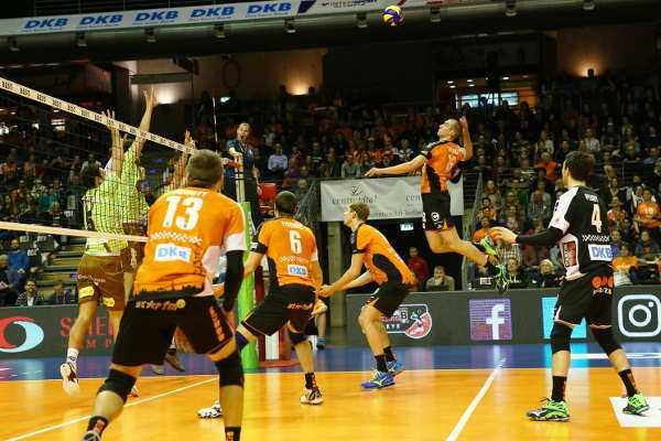 BR Volleys empfangen TSV Herrsching - Quelle: Eckhard Herfet