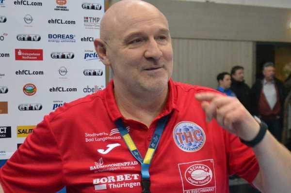 """Herbert Müller vom Thüringer HC: """"Deutschland kann Handball-Weltmeister werden"""" - Foto: Hans-Joachim Steinbach"""