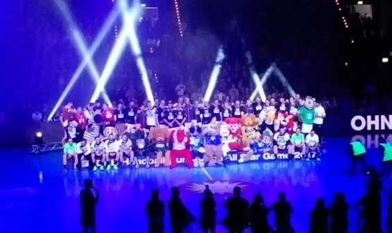Handball All Star Game 2017: All Stars siegten. Dagur Sigurdsson verabschiedet - Foto: SPORT4FINAL