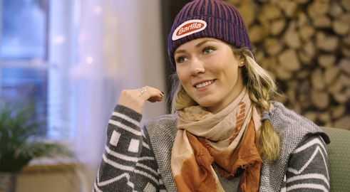 CNN Alpine Edge mit Slalom-Weltmeisterin Mikaela Shiffrin - Foto: CNN International Alpine Edge