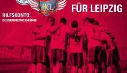 HC Leipzig hat EUR 15.000 auf Unterstützerkonto. Neckarsulm im Bundesliga-Heim-Match