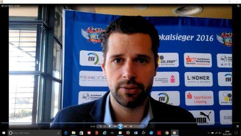 HC Leipzig: Norman Rentsch zur sportlichen Situation in der Finanz-Krise - Foto: SPORT4FINAL