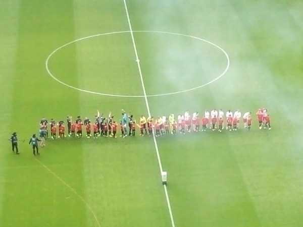 RB Leipzig unterlag VfL Wolfsburg. Foto: SPORT4FINAL