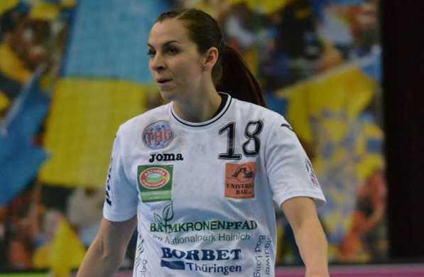 Handball: Iveta Koresova - Thüringer HC - Foto: Hans-Joachim Steinbach / Thüringer HC