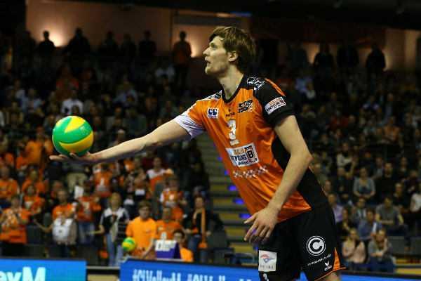 Robert Kromm - Volleyball Champions League Final Four: BR Volleys im Halbfinale gegen Titelverteidiger Zenit Kazan - Foto: Eckhard Herfet