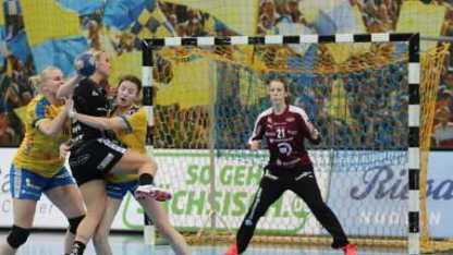 """HC Leipzig mit Klassenunterschied-Sieg gegen HSG Bad Wildungen. Shenia Minevskaja """"Matchplayer"""" - Foto: HC Leipzig"""