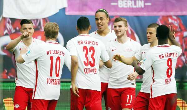 Deutsche Bundesliga, RasenBallsport Leipzig vs. FC Bayern München - RB Leipzig mit Marcel Sabitzer (RB Leipzig) - Foto: GEPA pictures/Sven Sonntag