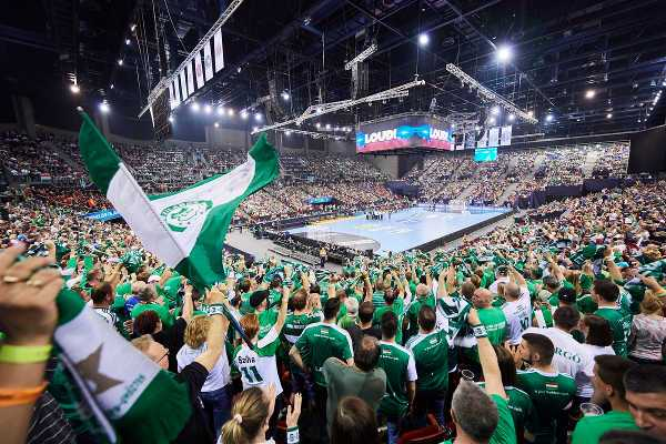 Handball Champions League, TIPPMIX EHF FINAL4 2017 Györi Audi ETO KC vs. HC Vardar Skopje Papp László-Sportaréna, Budapest, Hungaria, © 2017 EHF / Marcel Lämmerhirt