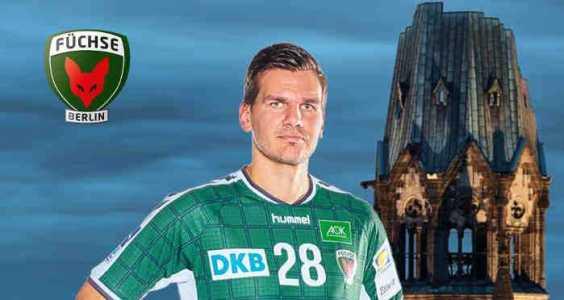 Erik Schmidt - Handball Bundesliga - Foto: Füchse Berlin
