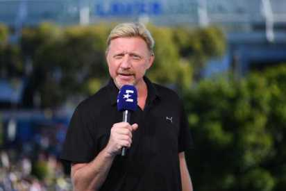 Boris Becker - Copyright: Antoine Couvercelle / Getty Images