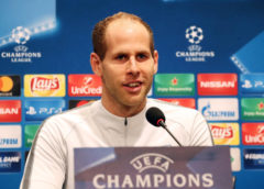 UEFA Champions League, Besiktas Istanbul vs. RasenBallsport Leipzig, press conference RB Leipzig - Peter Gulacsi (RB Leipzig) - Foto: GEPA pictures/Sven Sonntag