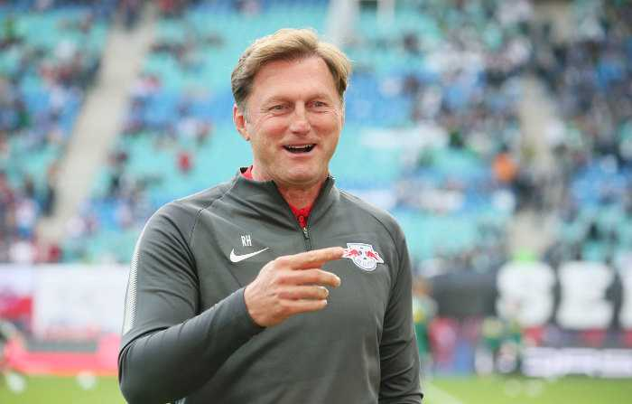 Deutsche Bundesliga, RasenBallsport Leipzig vs. Borussia Mönchengladbach - Ralph Hasenhüttl (RB Leipzig) - Foto: GEPA pictures/Sven Sonntag