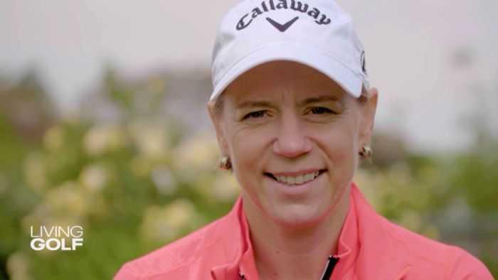 Annika Sörenstam - Foto: CNN International Living Golf