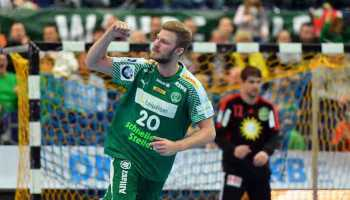 Philipp Weber - SC DHfK Leipzig - Handball Bundesliga - Foto: Rainer Justen