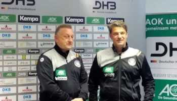 Michael Biegler - Jan Holpert - DHB Handball Bundestrainer - Handball Ladies Nationalmannschaft - Foto: SPORT4FINAL