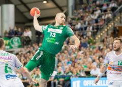 Maximilian Janke (13) - SC DHfK Leipzig vs. Frisch Auf Göppingen - Handball Bundesliga - Foto: Karsten Mann