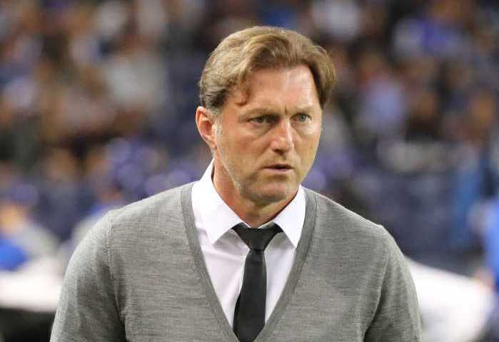 UEFA Fußball Champions League, FC Porto vs. RasenBallsport Leipzig - Ralph Hasenhüttl (RB Leipzig) - Foto: GEPA pictures/Roger Petzsche