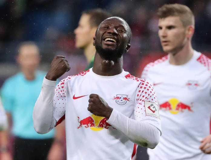 Deutsche Bundesliga, RasenBallsport Leipzig vs. SV Werder Bremen - Naby Keita (RB Leipzig) - Foto: GEPA pictures/Sven Sonntag