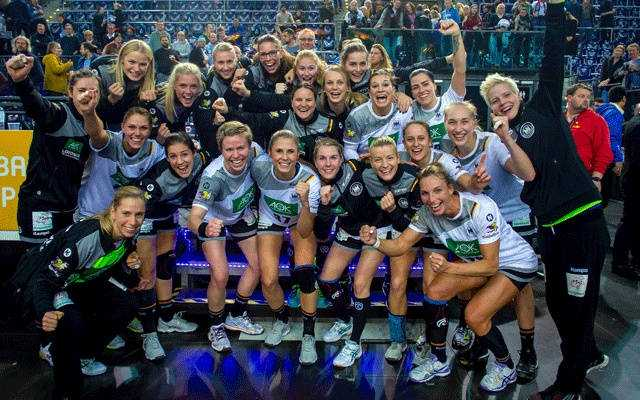 Handball WM 2017 Deutschland - DHB Ladies - Foto: DHB