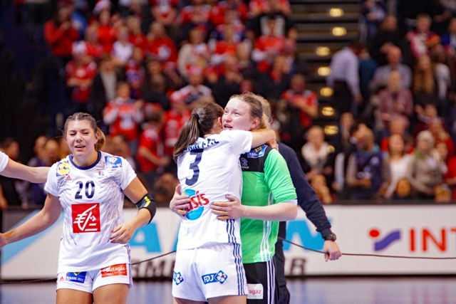 Frankreich - Handball WM 2017 Deutschland - Finale Frankreich vs. Norwegen - Foto: Jansen Media