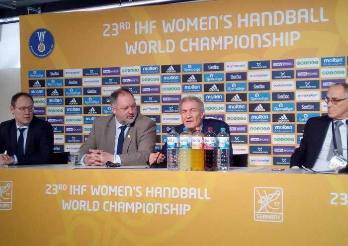 Handball WM 2017 Deutschland - IHF Pressekonferenz am 17.12.2017 - Foto: SPORT4FINAL