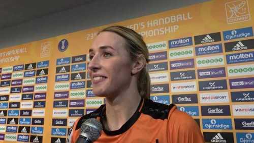Lois Abbingh - Niederlande - Handball WM 2017 Deutschland - Bronzemedaillen-Match Niederlande vs. Schweden - Foto: Jansen Media