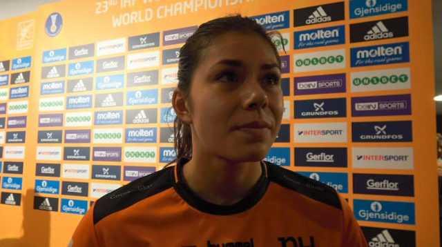 Martine Smeets - Handball WM 2017 Deutschland - Halbfinale Niederlande vs. Norwegen - Foto: Jansen Media