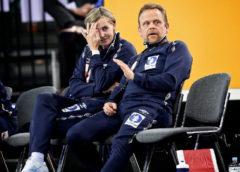 Mia Hermansson Hogdahl und Thorir Hergeirsson - Norwegen - Handball WM 2017 Deutschland - Foto: Joachim Schütz (http://www.stregspiller.com)
