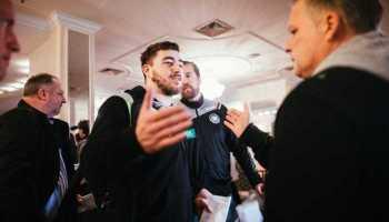 Handball EM 2018 - Deutschland - bad boys - Ankunft in Zagreb - Foto: #nähergehtnicht