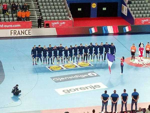 Handball EM 2018 - Frankreich vs. Schweden - Arena Zagreb - Foto: SPORT4FINAL