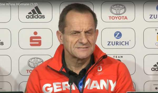 Olympia PyeongChang 2018 - DOSB-Präsident Alfons Hörmann - Pressekonferenz über die Halbzeit-Bilanz von Team Deutschland - Quelle / Copyright: DOSB / SID Marketing